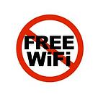 No Free WiFi