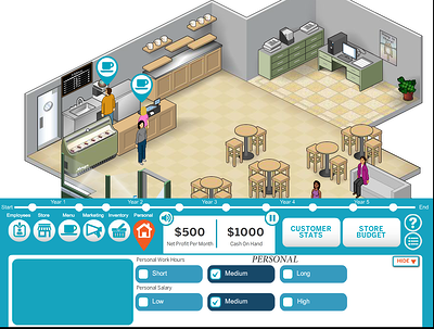 Small Business Operator Game