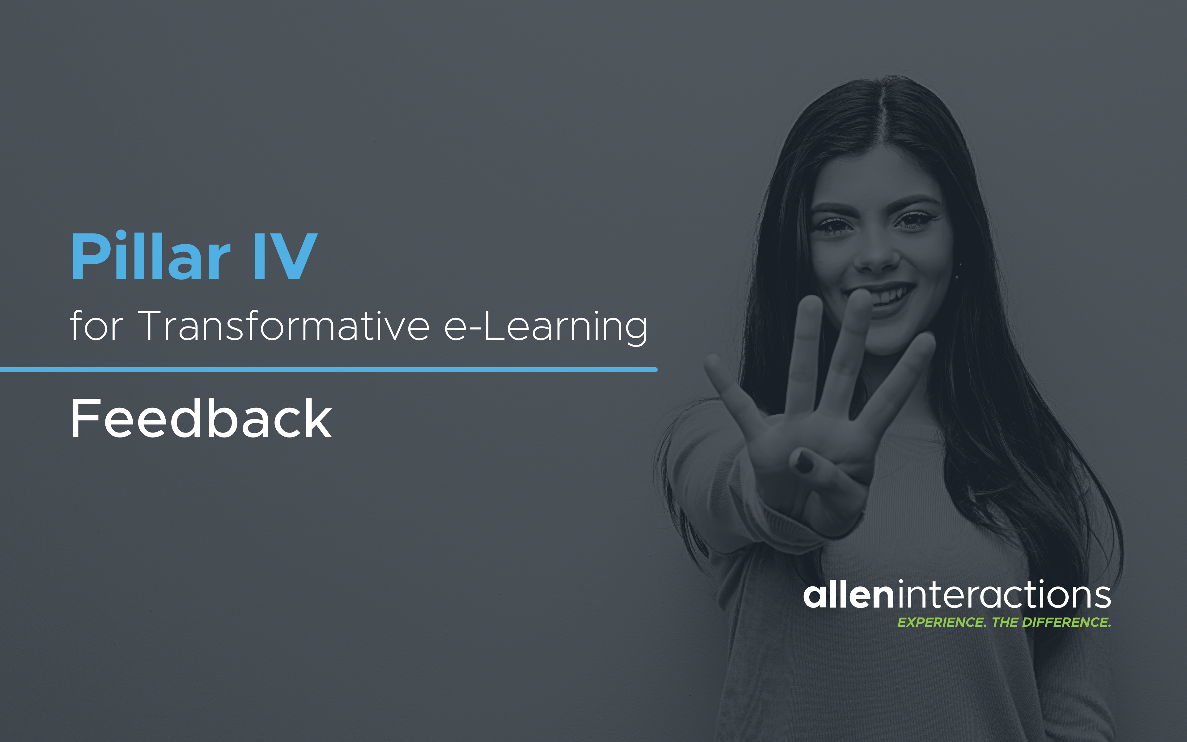 Pillar IV for Transformative e-Learning Instructional Design: Feedback