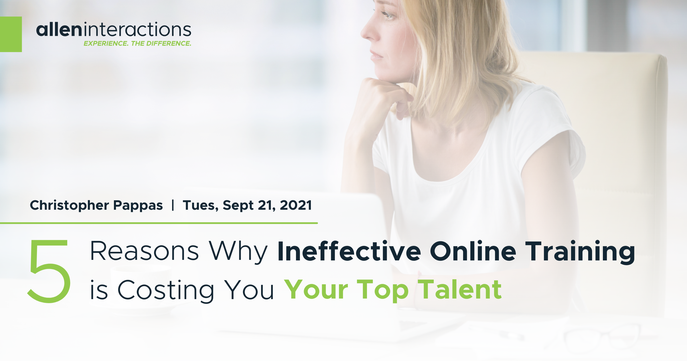5 Reasons Why Ineffective Online Training is Costing You Your Top Talent