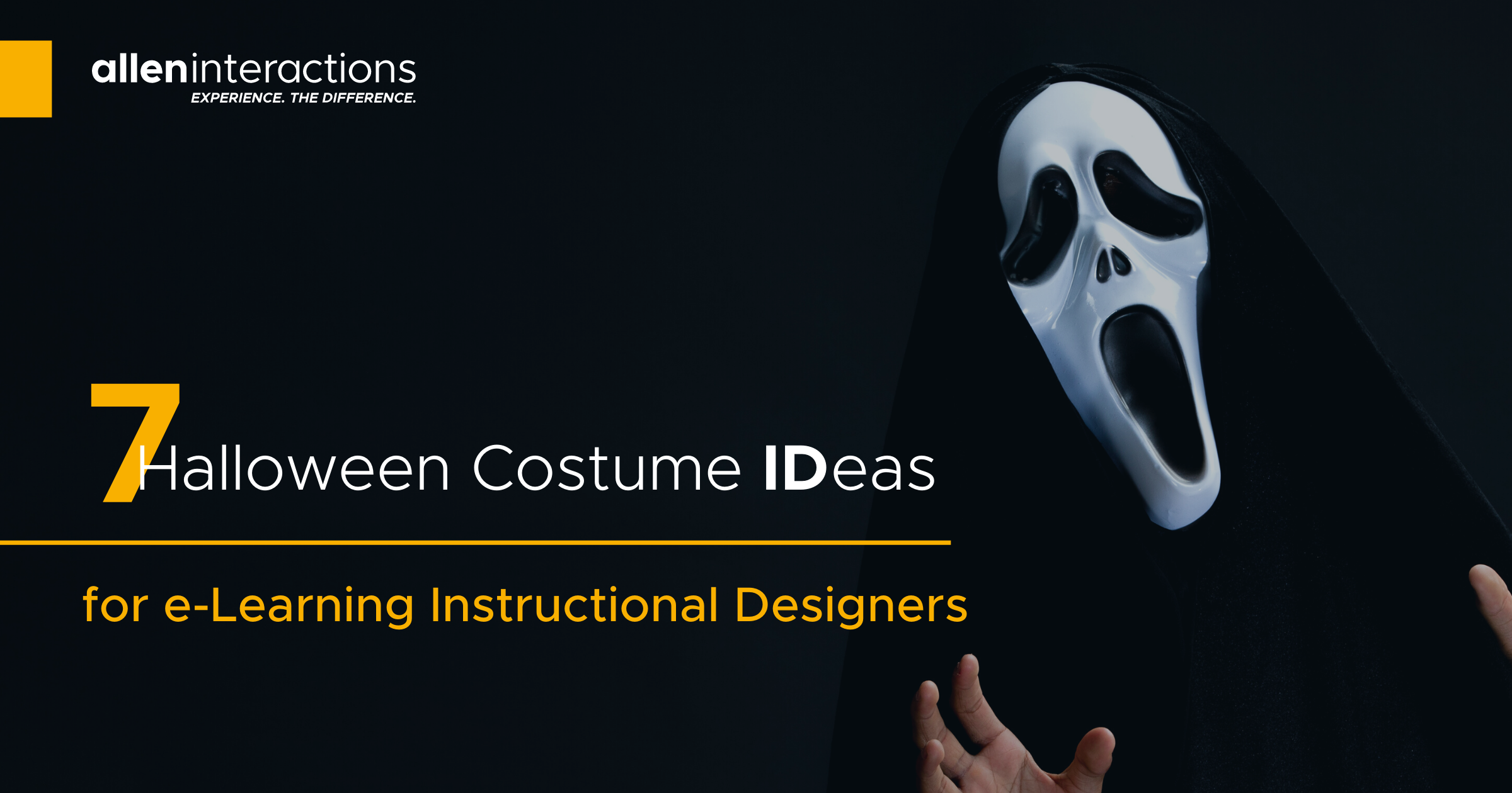 Seven Halloween Costume IDeas for e-Learning Instructional Designers