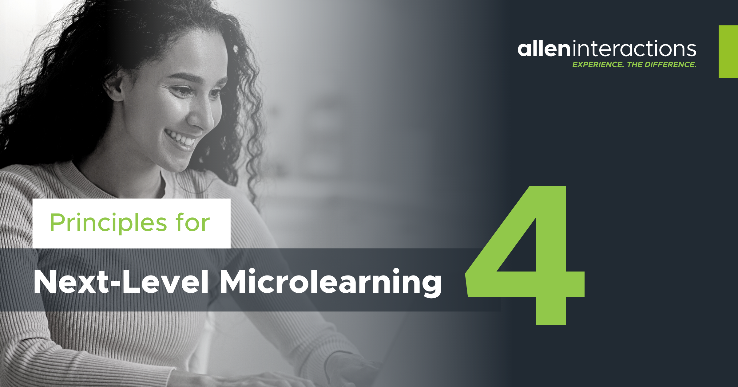 4 Principles for Next-Level Microlearning