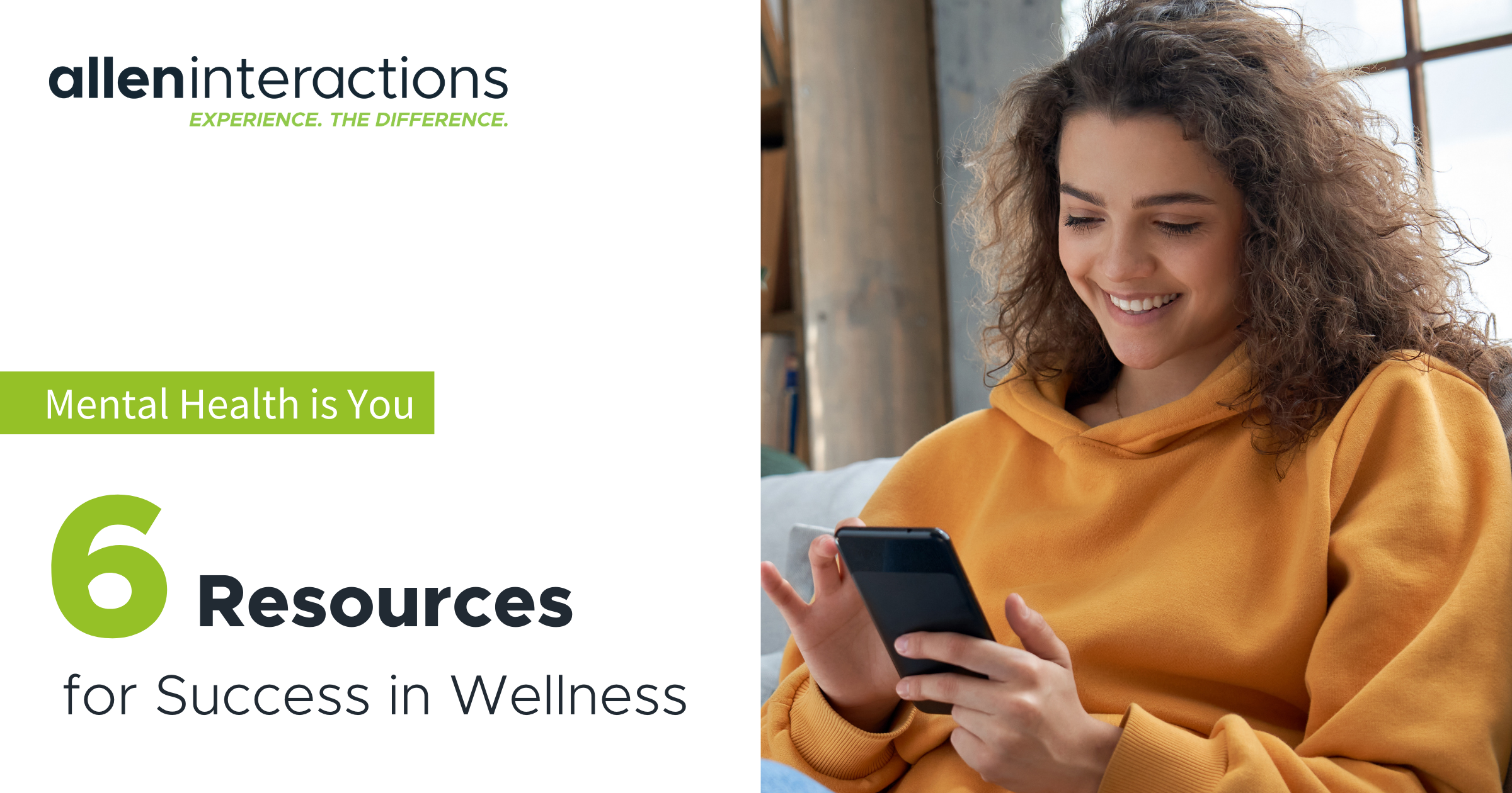 Mental Health is You - 6 Resources for Success in Wellness