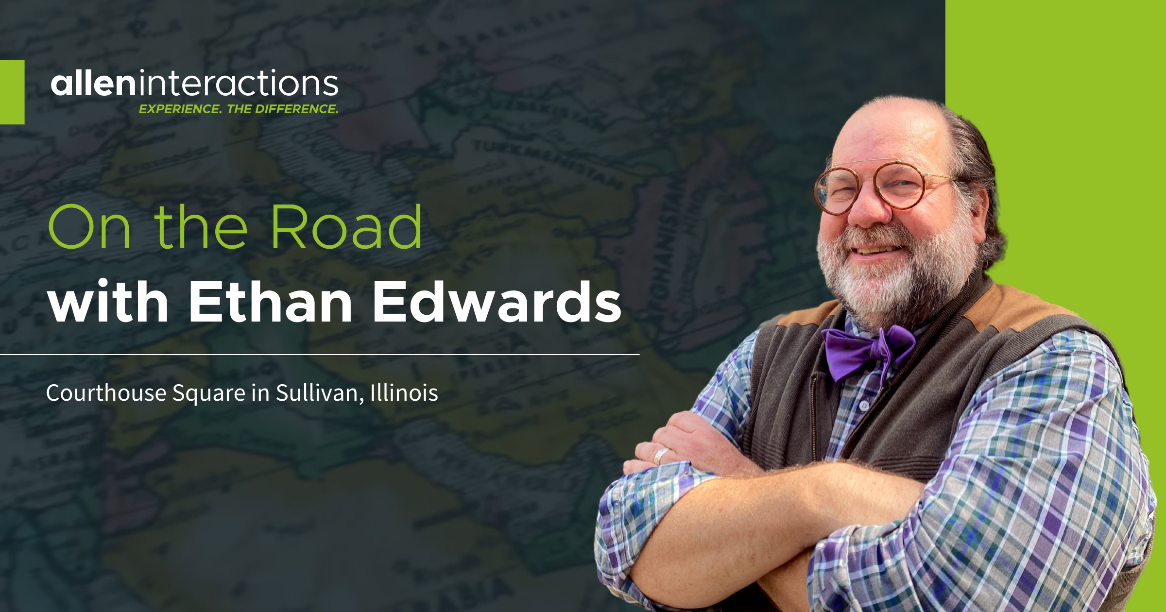 On the Road with Ethan Edwards: Courthouse Square in Sullivan, Illinois
