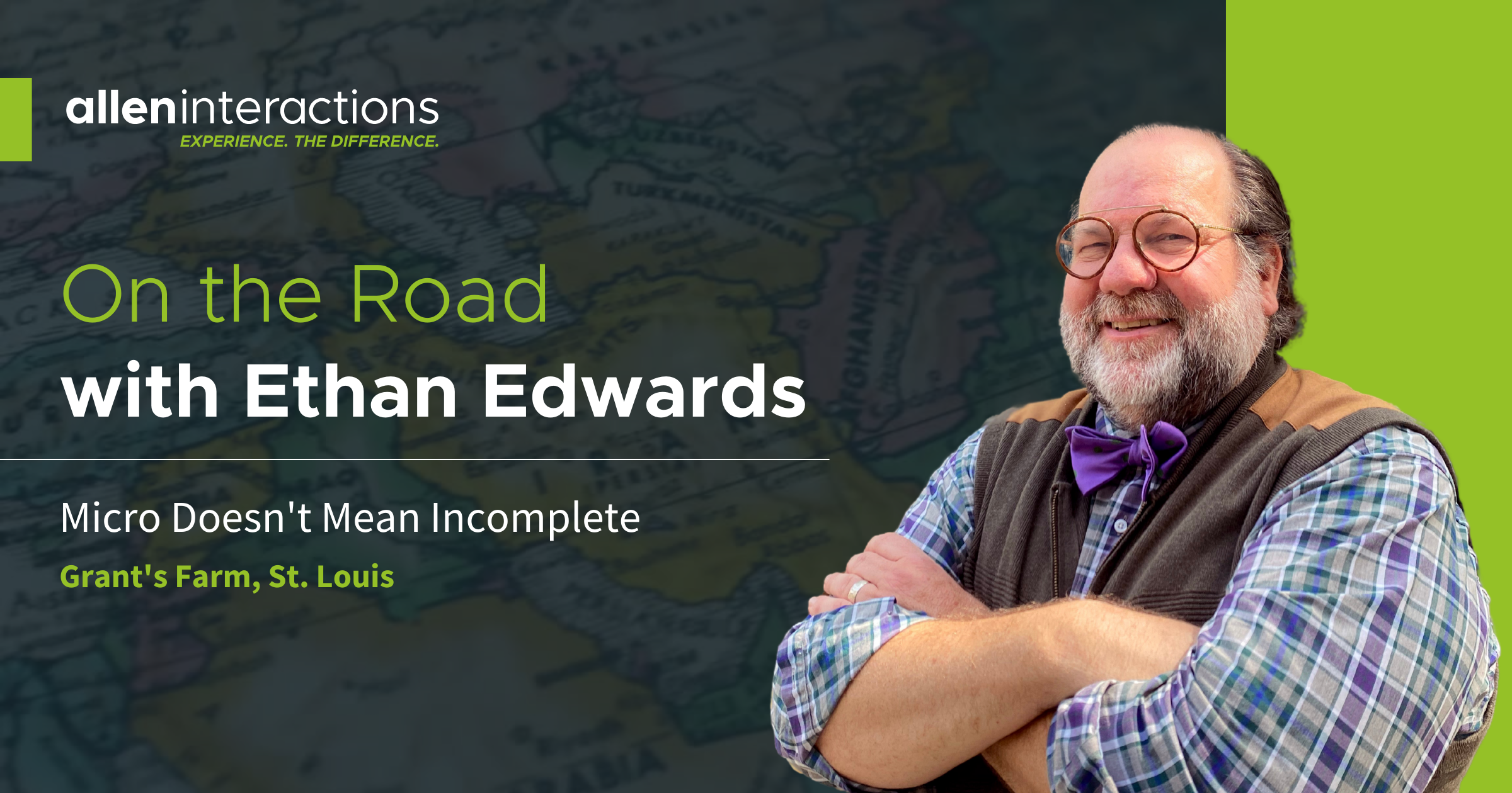 On the Road with Ethan Edwards: Micro Doesn't Mean Incomplete